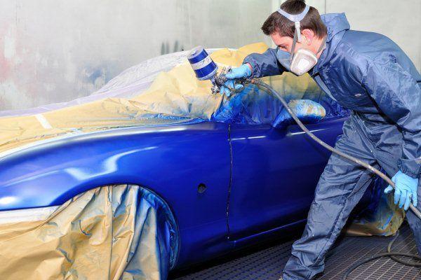 automobilių kėbulo dažymas
