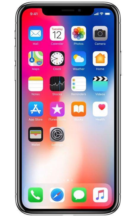 iphone x kaina